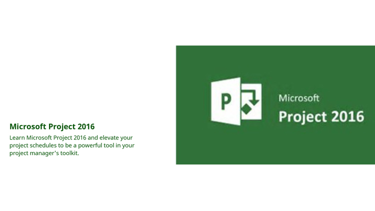 Microsoft Project 2016 - From startup to ready to control