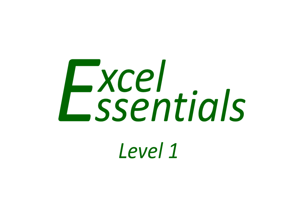 Excel Essentials - Level 1