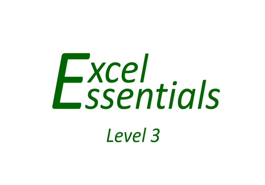 Excel Essentials - Level 3
