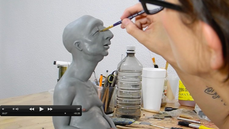 Learn the secrets of sculpting and professional modeling