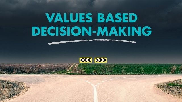 Values based decision-making