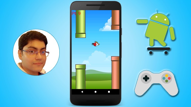 Android Game Development - Build a Flappy Bird game | Simpliv