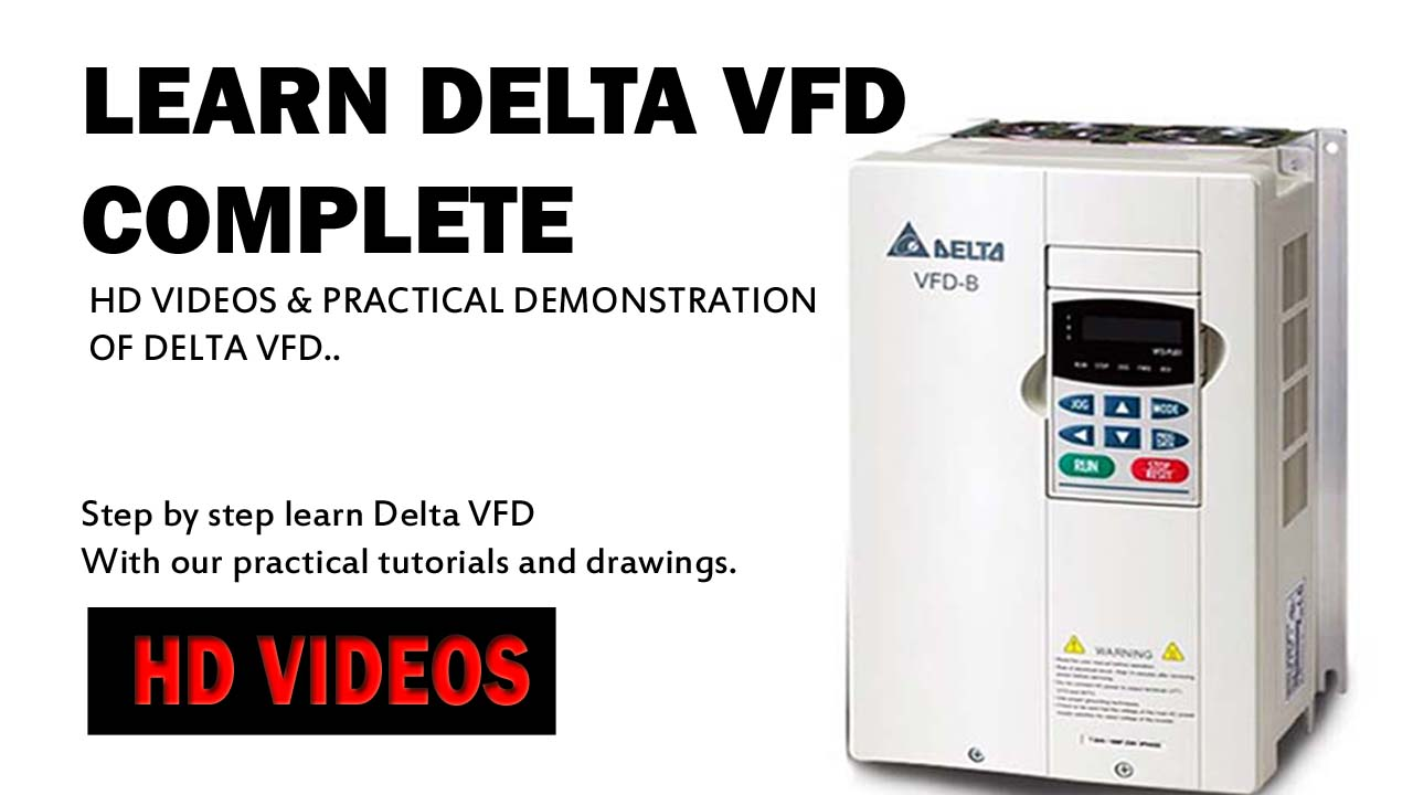Learn Delta VFD in a Day