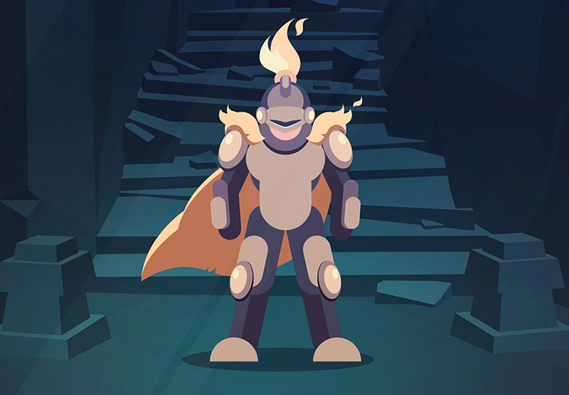 Create a Simple Vector Knight