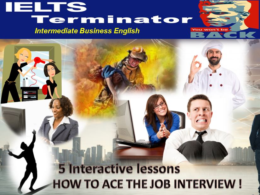 How to get the job you WANT in an English speaking environment