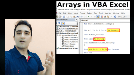 Excel VBA Arrays & Functions Series 3 | Simpliv