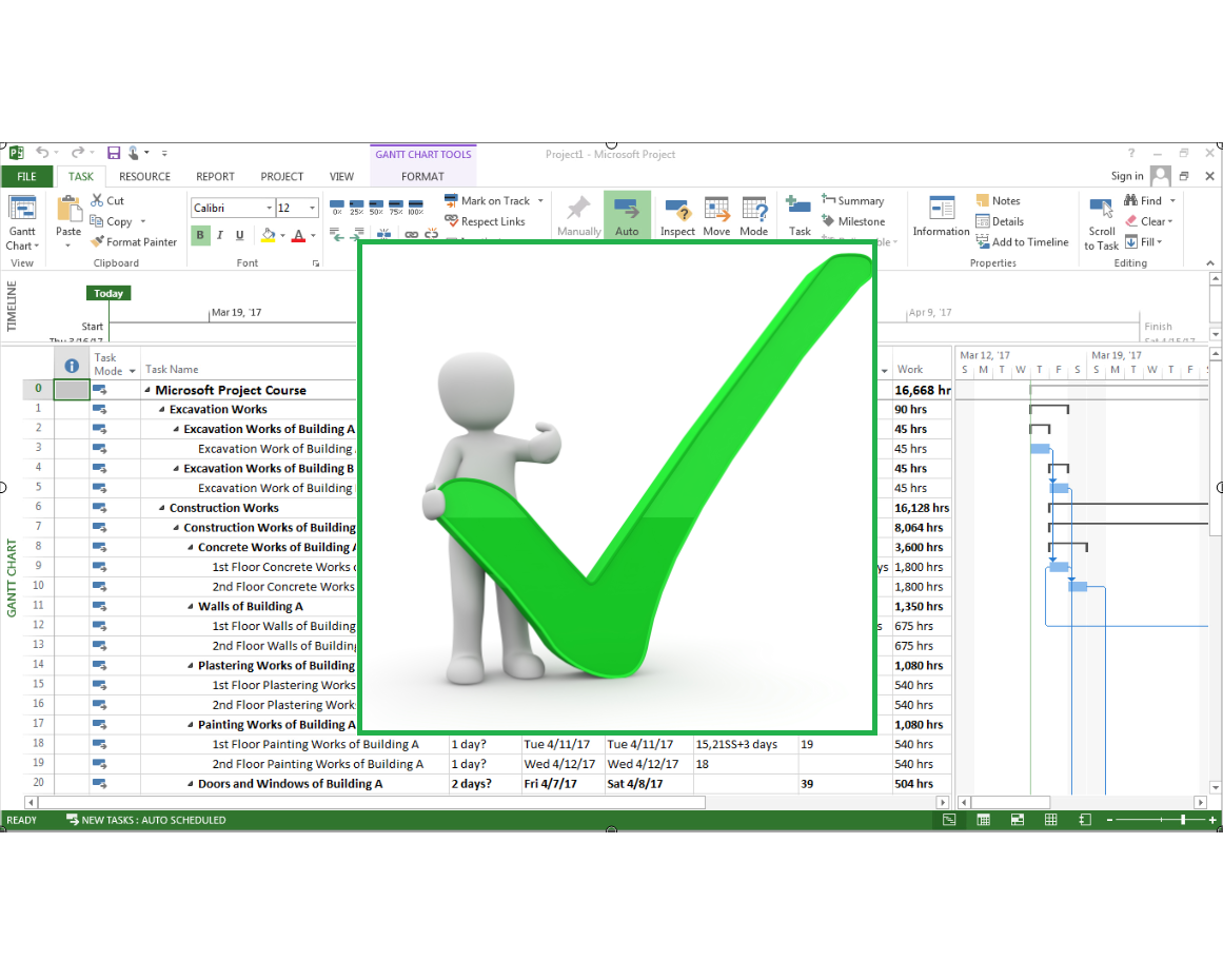 Microsoft Project: MS Project for Project Management Mastery - 10 PDUS