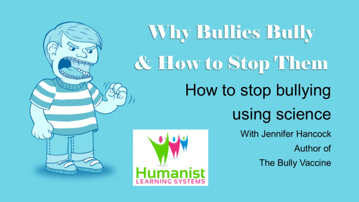 Why Bullies Bully and How to Get Them to Stop