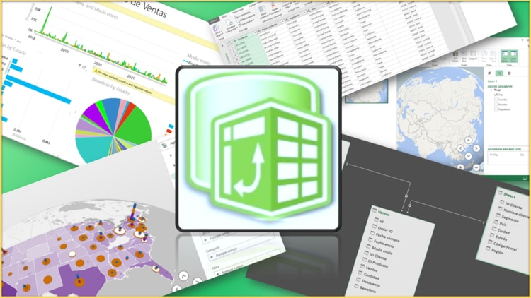Microsoft Excel | Domina Power Pivot, Power Query, Power View Power Map