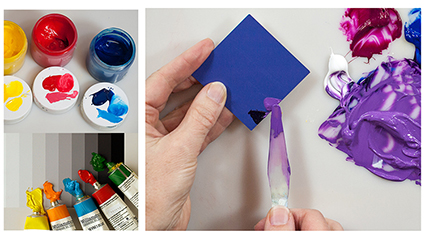 New & Easy Color Mixing for Painters - in Acrylic & Oil