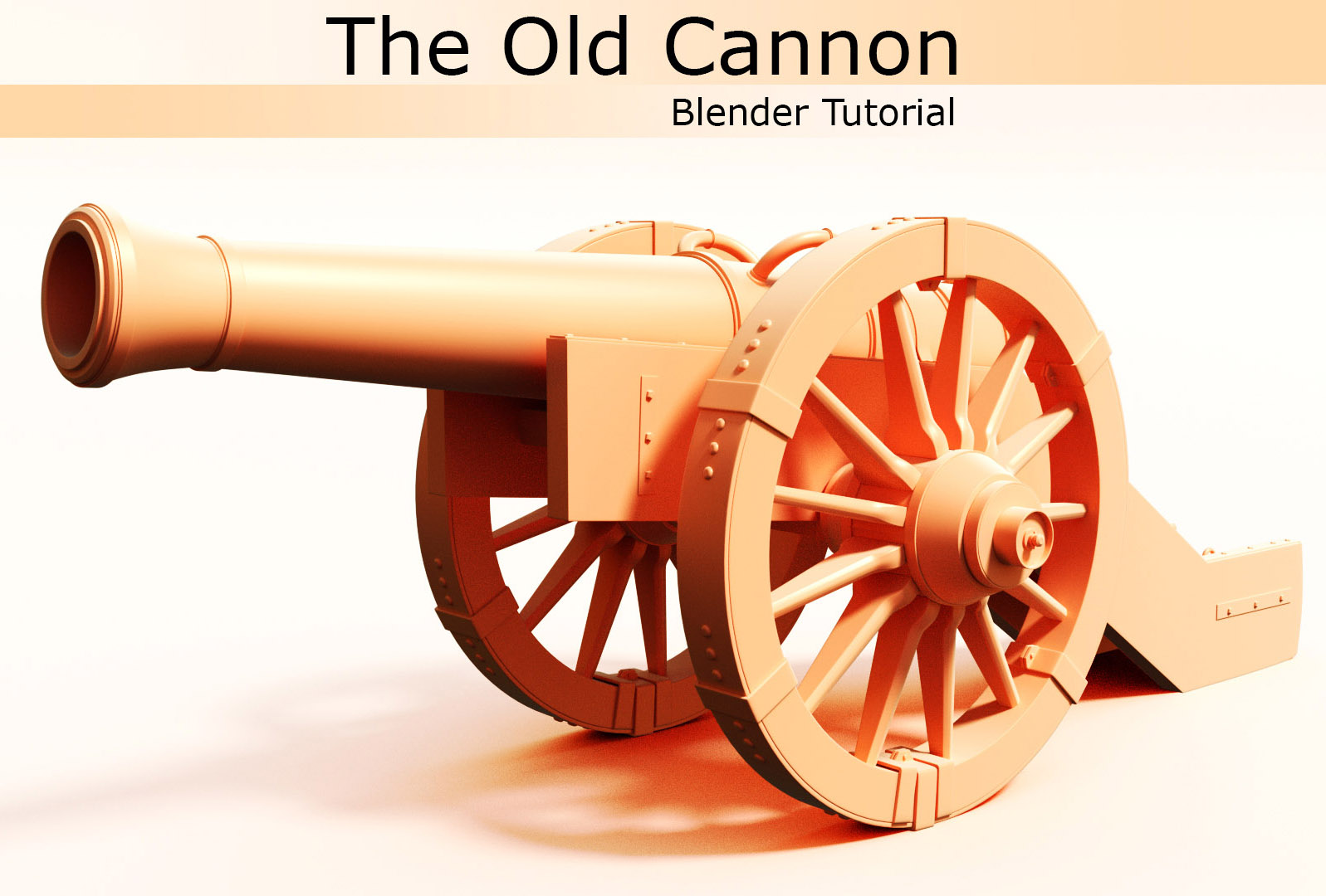 Modeling an Old Cannon in Blender