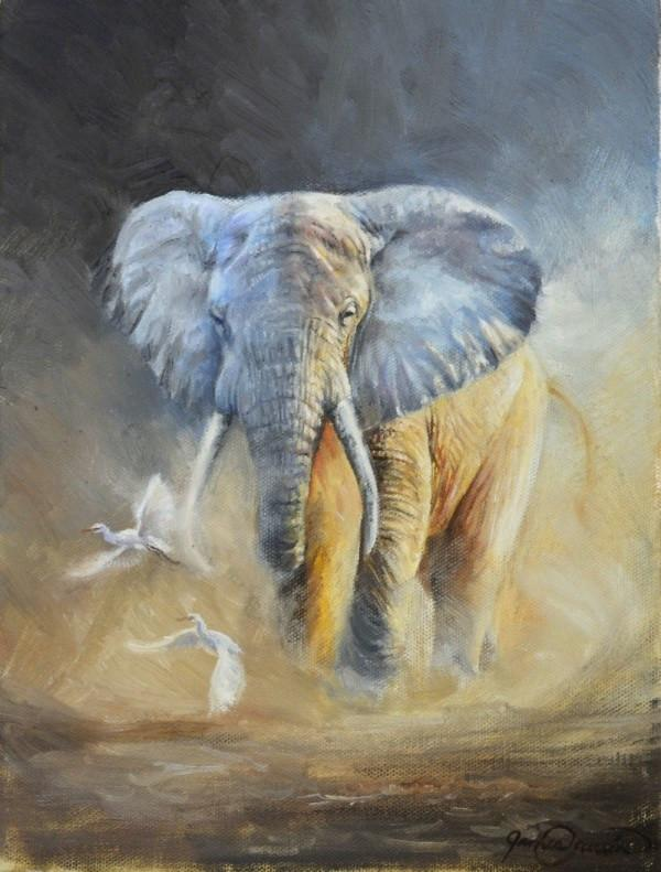Learn to Paint an Elephant Step-by-Step! - Instructional Painting Video!