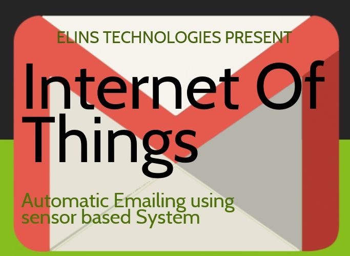 Internet Of Things: Automatic email IOT development using NodeMCU