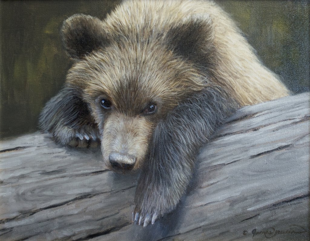 Learn to Paint a Bear Cub Step-by-Step!