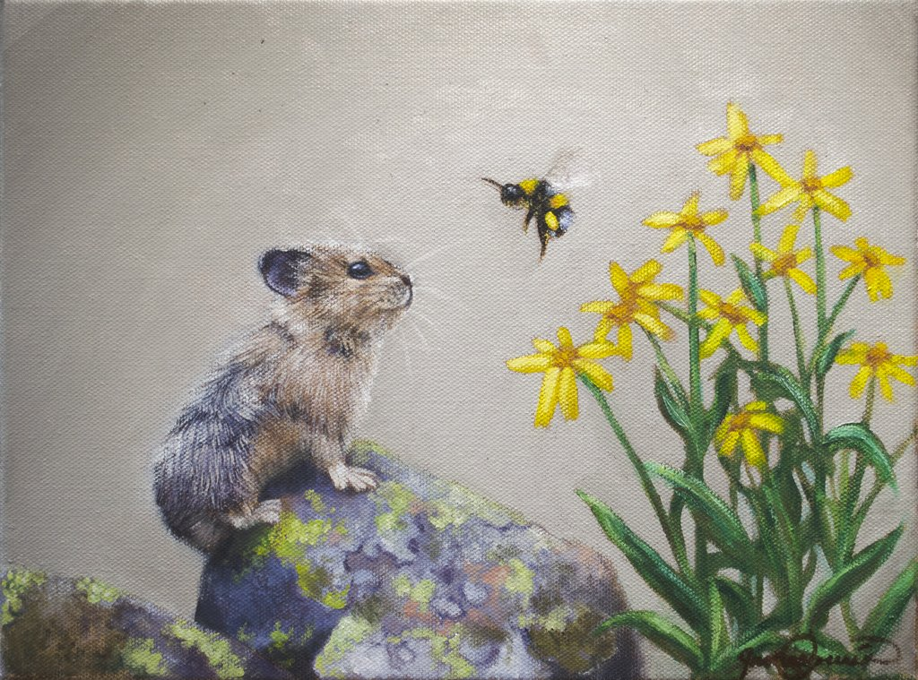 Learn to Paint a Pika and Bumblebee Step-by-Step!
