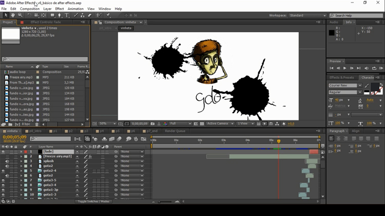 Adobe After Effects basics