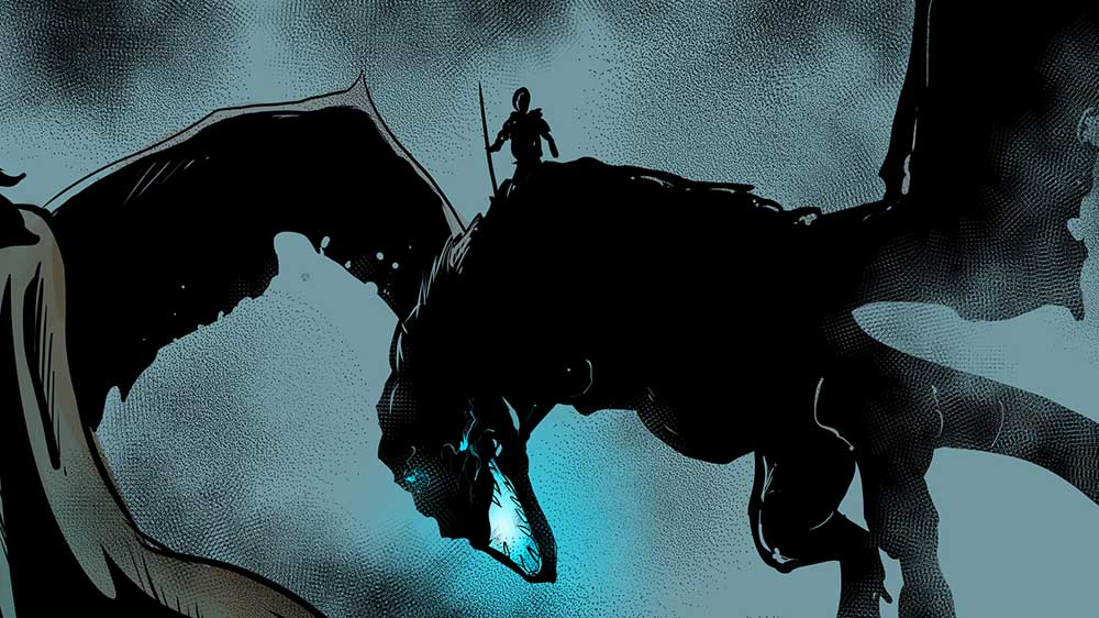 Create a Game of Thrones scene into a comic book