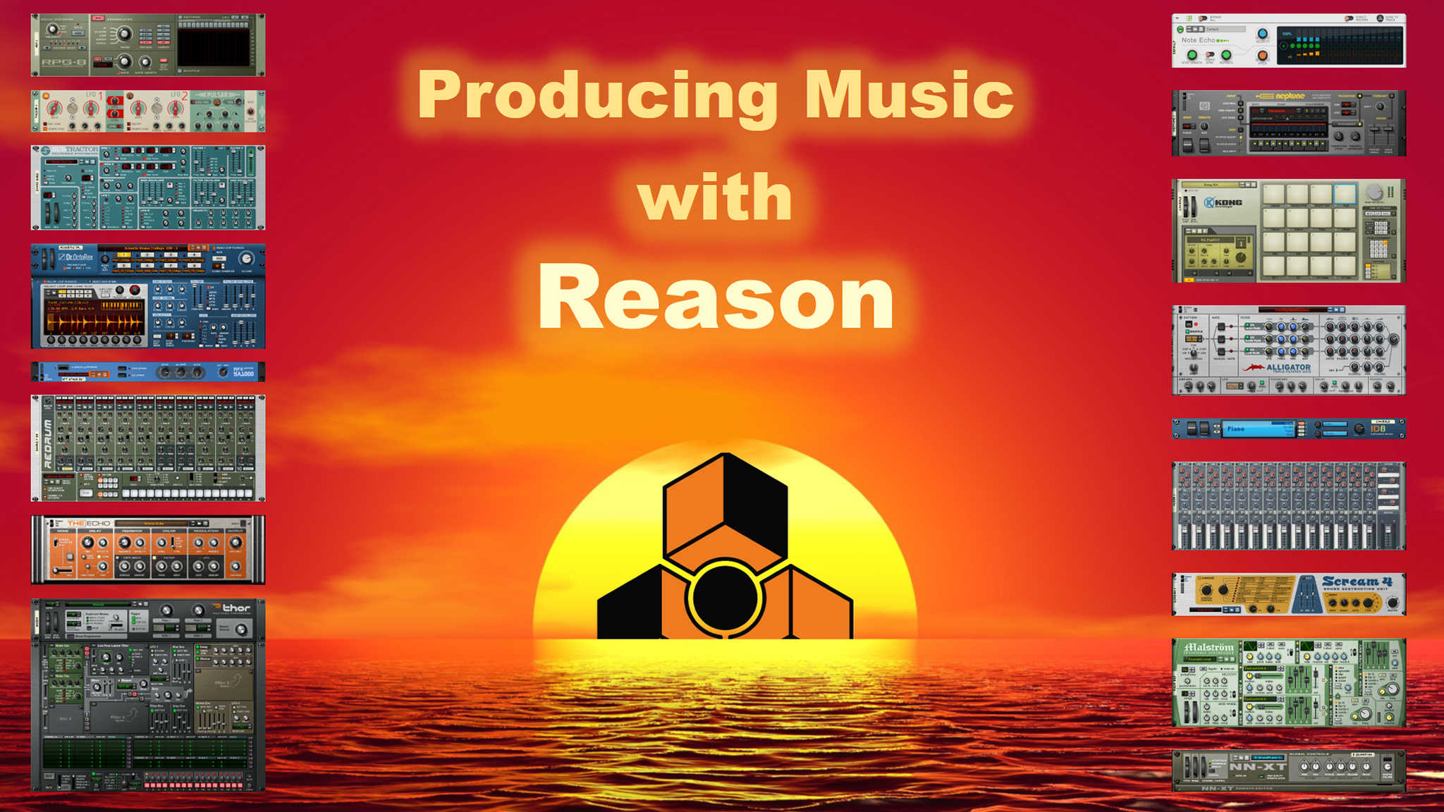 Producing Music with Reason