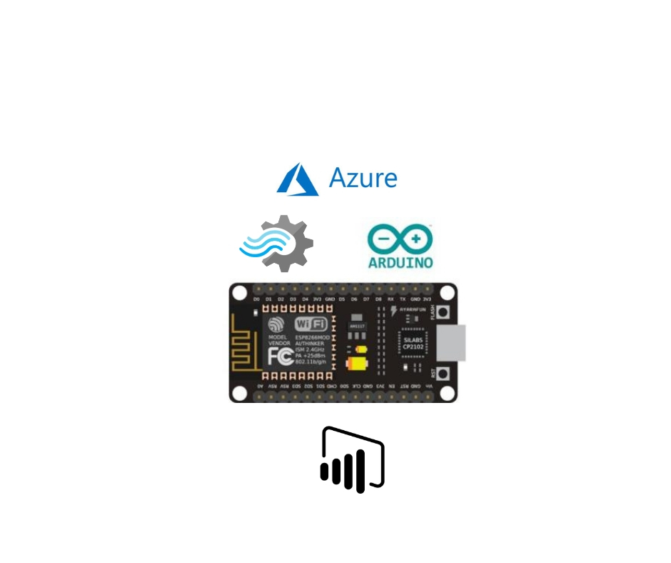 Learn Microsoft Azure IOT with ESP8266 & Microsoft Power BI