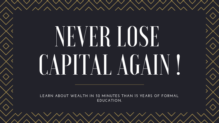 Investing: Never Lose Capital Again