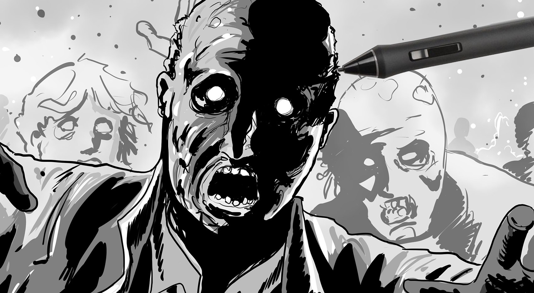 "How to Draw in the ""Walking Dead"" Style"