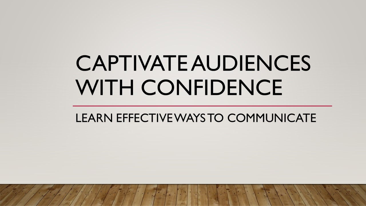 Captivate Audiences with Confidence