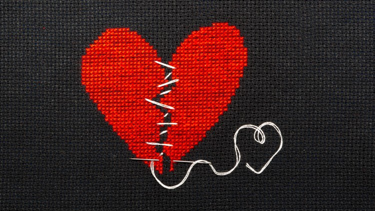 How To Get Over A Broken Heart, Break Up Or Emotional Trauma