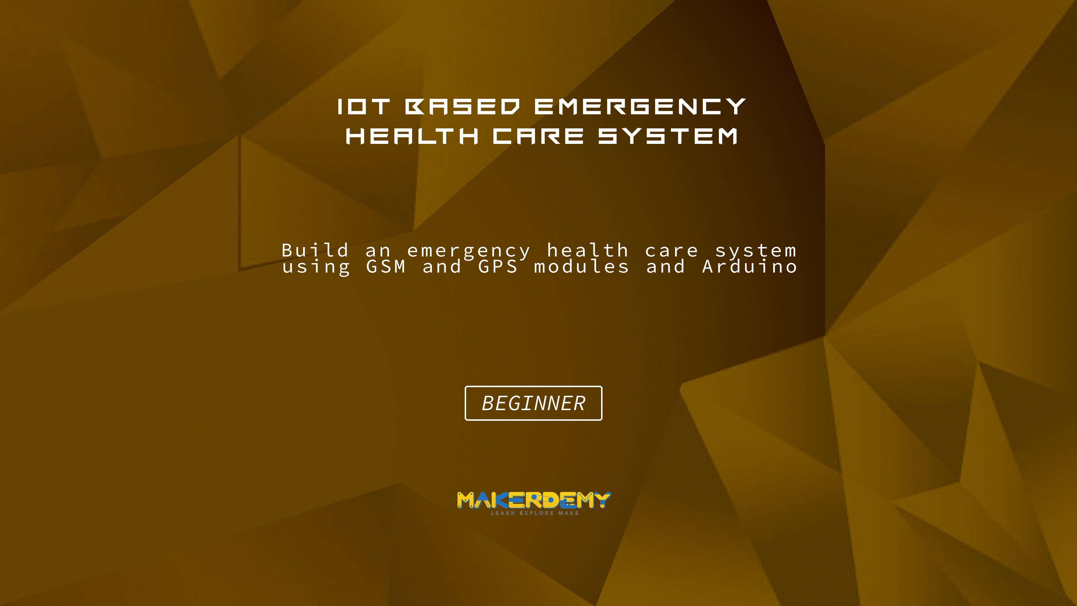 IoT based Emergency Health Care System