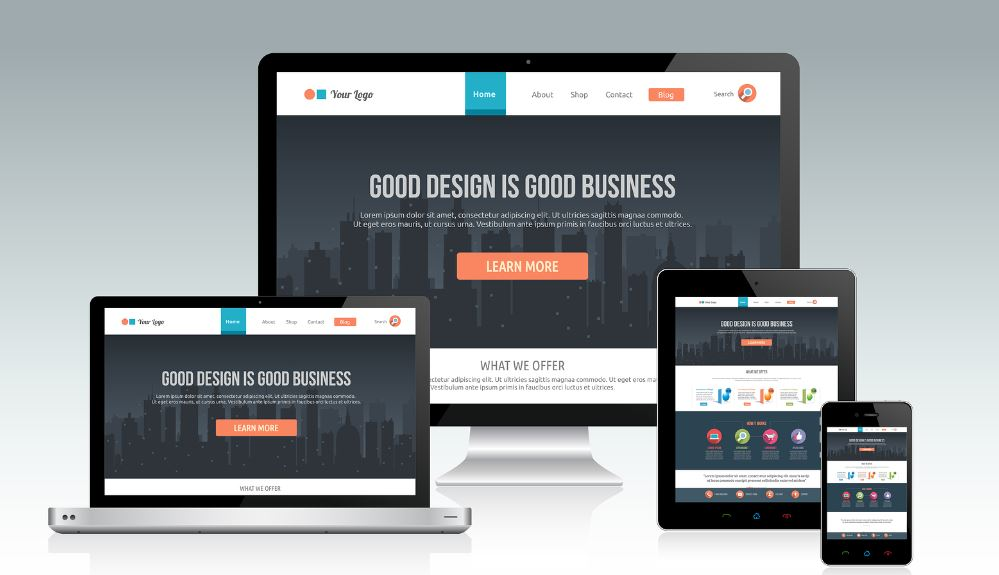 Responsive E Commerce Website Designing Without Bootstrap