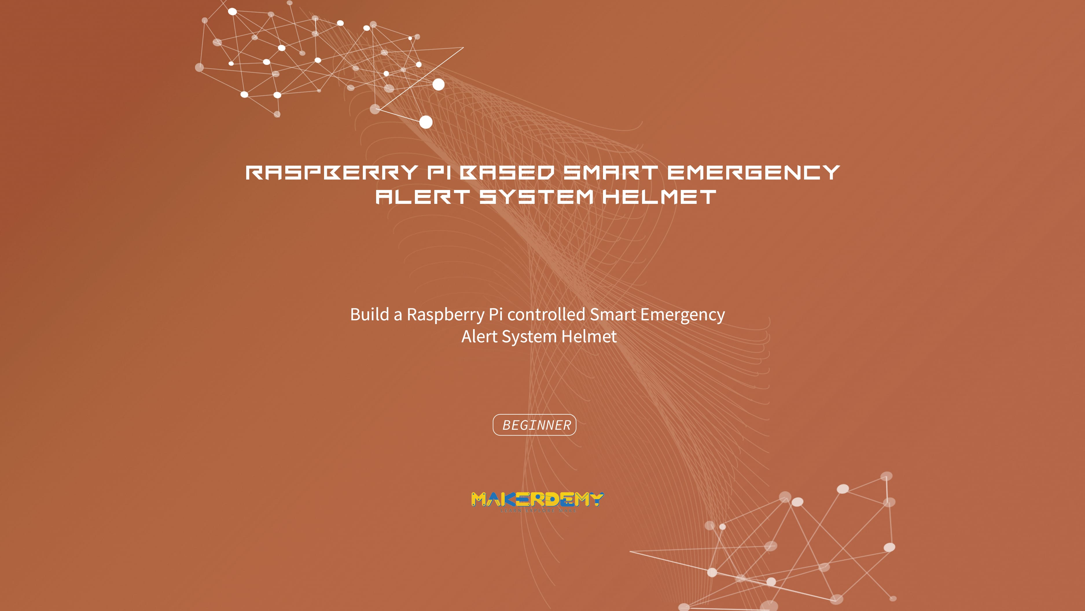 Raspberry Pi based Smart Emergency Alert System Helmet