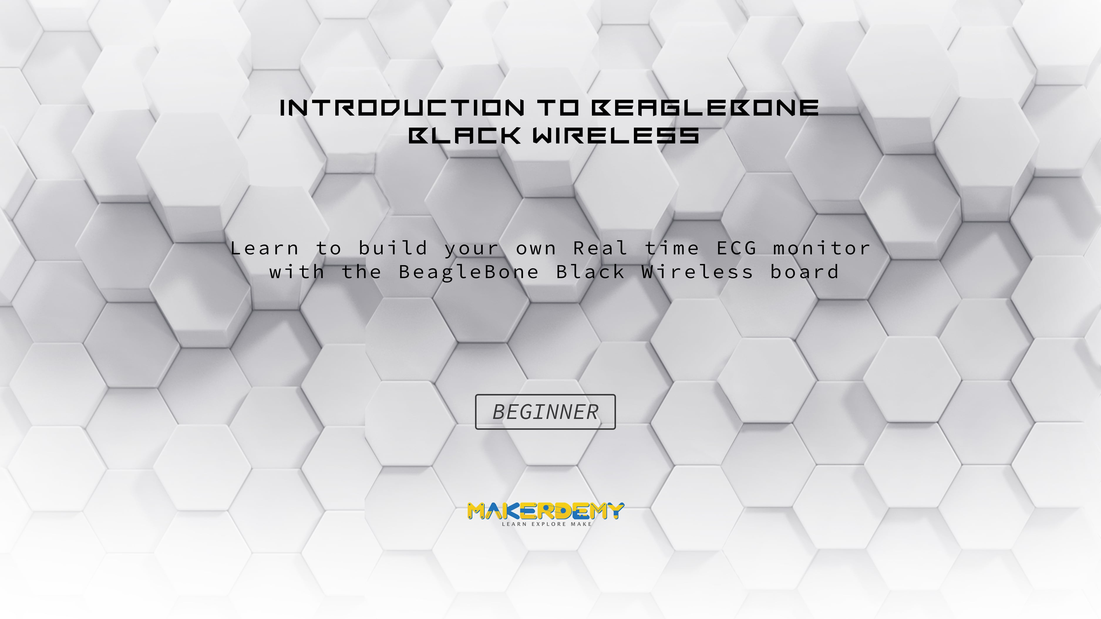 Introduction to Beaglebone Black  Wireless