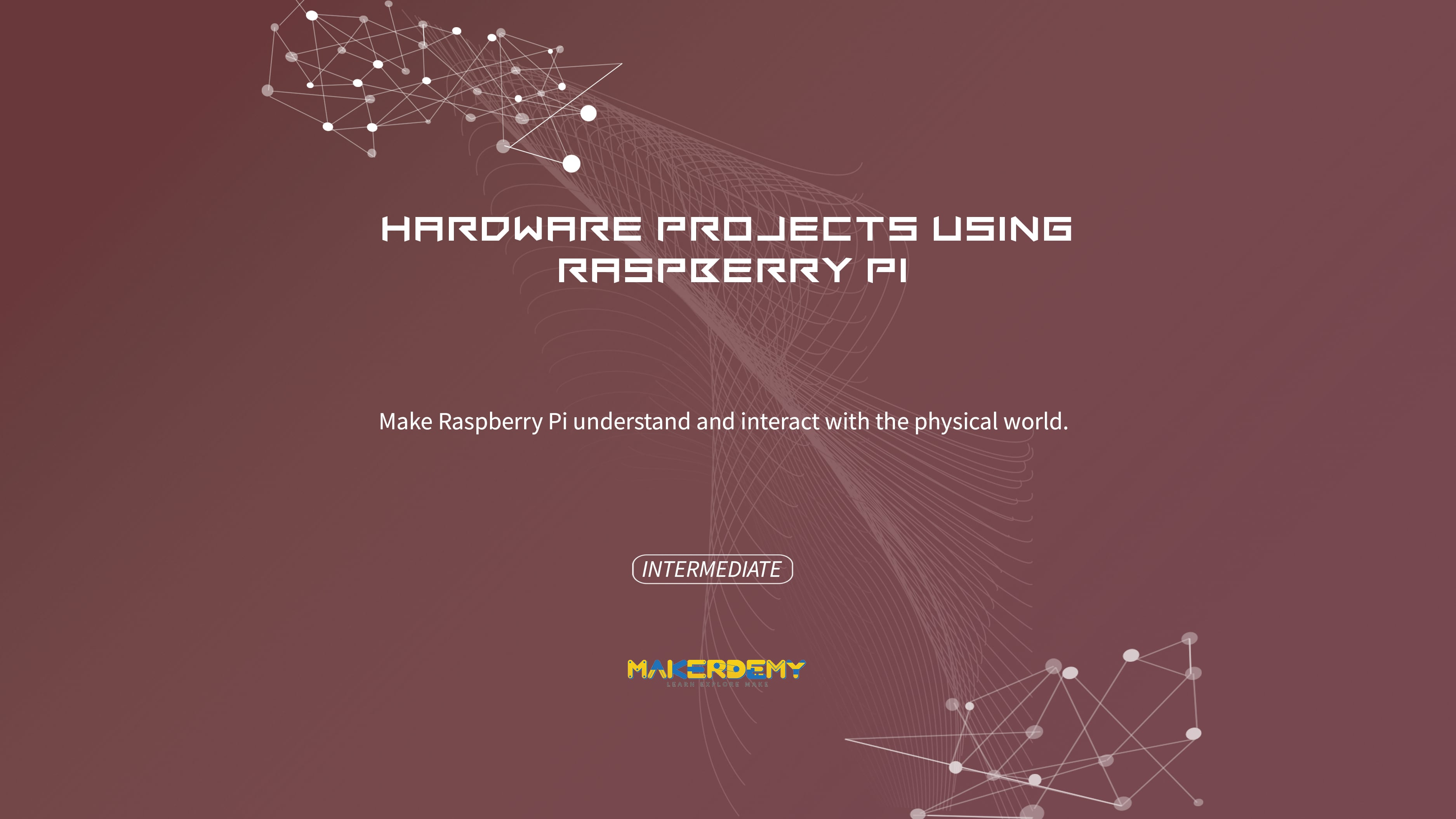 Hardware projects using Raspberry Pi