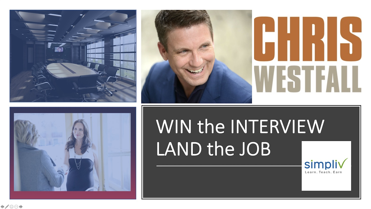 WIN the INTERVIEW, LAND the JOB
