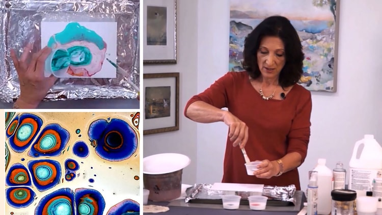 Pouring Acrylic Painting Techniques