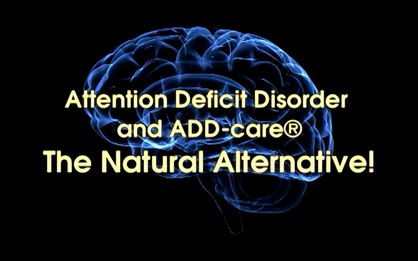 Learn about Attention Deficit Disorder