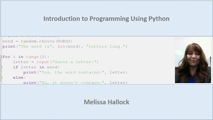 Introduction to Programming with Python