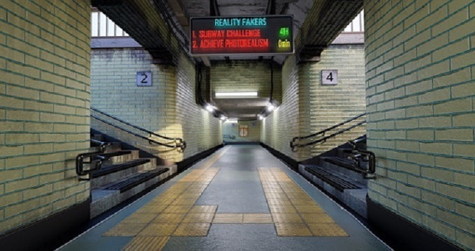 Achieve 3D Photorealism in Blender 2.8: Subway Challenge