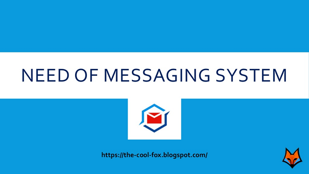 What is a Messaging System? Why we need a Messaging System?