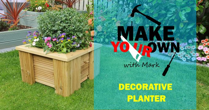 Make Your Own Decorative Planter with Mark | for Beginners