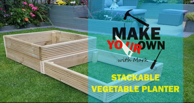 Make Your Own Stackable Vegetable Planter with Mark | for Beginners