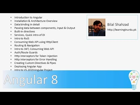 Learn Angular 8 from Scratch