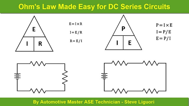 Ohms Law Made Easy for DC Series Circuits
