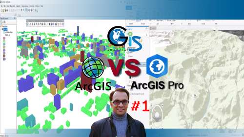 ArcGIS vs ArcGIS Pro: Level 1