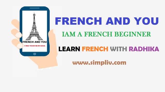 FRENCH AND YOU: IAM A FRENCH BEGINNER