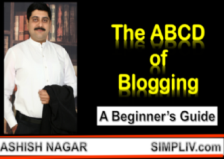 The ABCD of Blogging - A Beginner's Guide