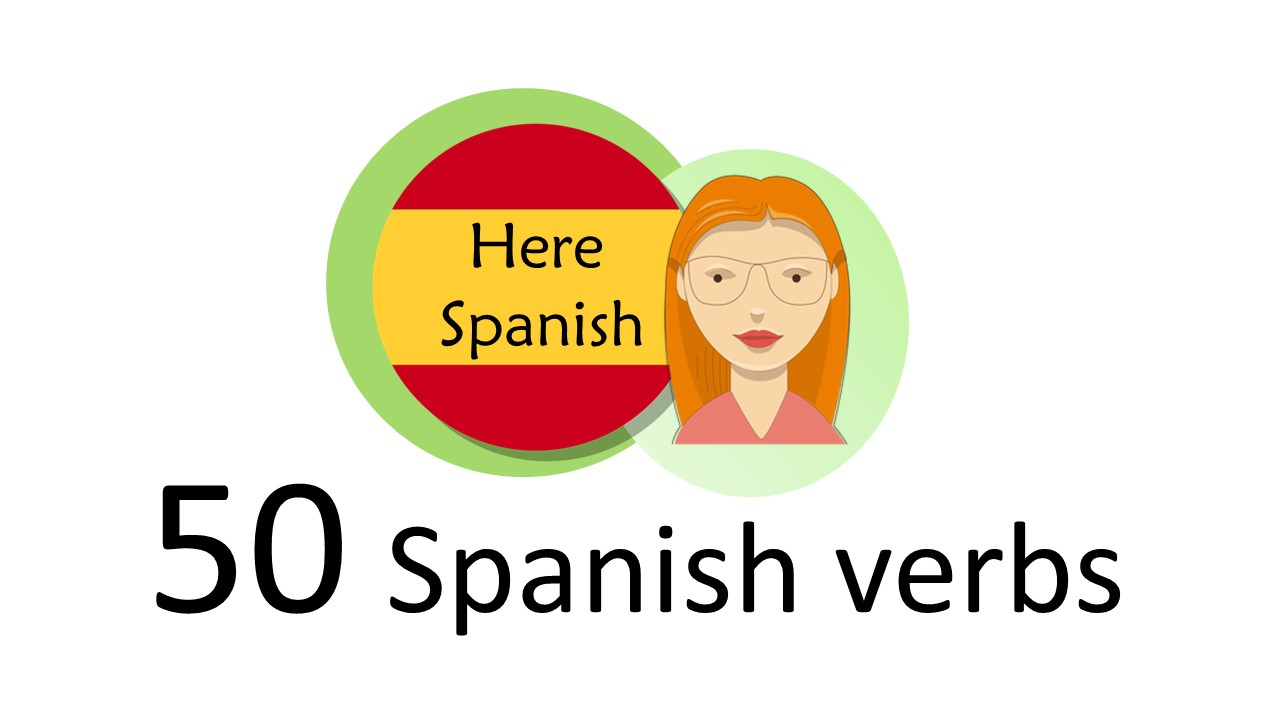 Spanish verbs: the 50 most common - present tense Spanish conjugation