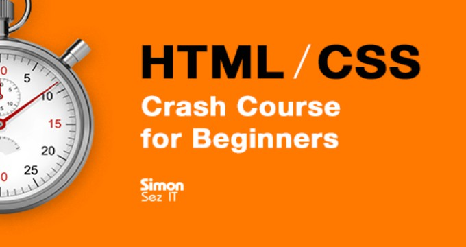 HTML and CSS Crash Course for Beginners