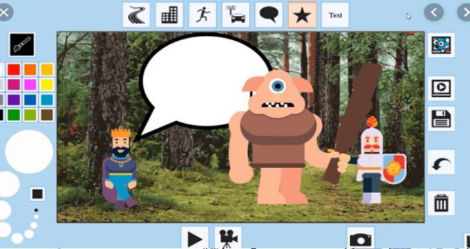 Teach to Draw and Animate with KIDS CARTOON MAKER