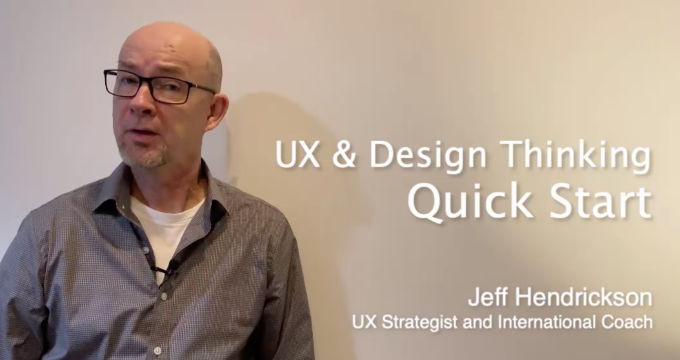 UX & Design Thinking Quick Start