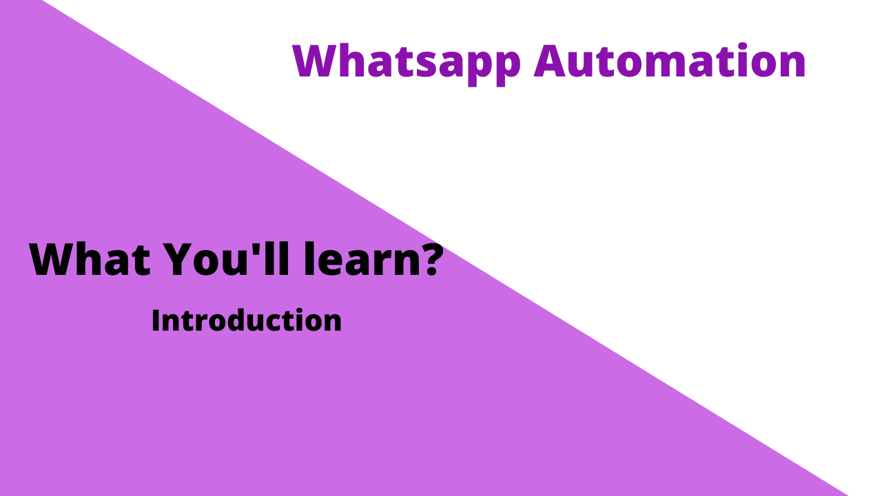 Whatsapp Automation Using Python
